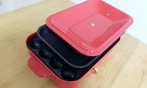 ブルーノホットプレートの箱への収納方法