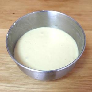【ブルーノコンパクトホットプレートレシピ】生地の準備