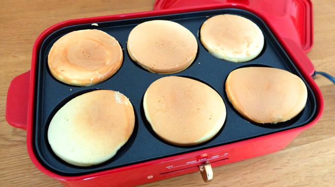 【レシピ】ブルーノホットプレートで『パンケーキ』の作り方