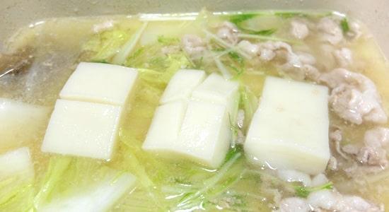 〆のお餅 ブルーノの鍋レシピ