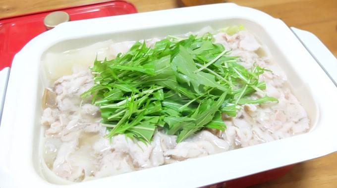 【鍋レシピ】ブルーノで『大根鍋』の作り方