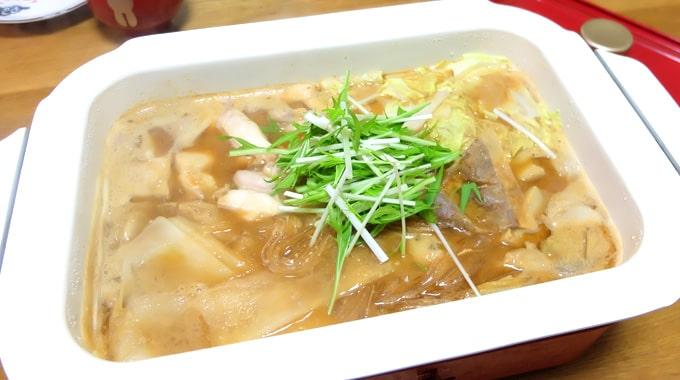 【鍋レシピ】ブルーノホットプレートで『ごま鍋』の作り方