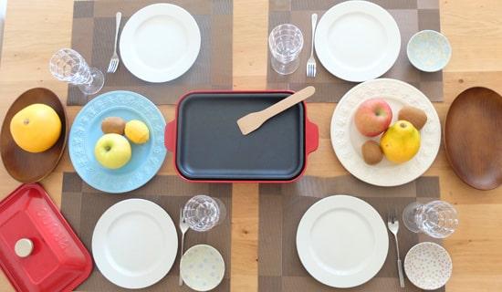 テーブルイメージ|ブルーノコンパクトホットプレート