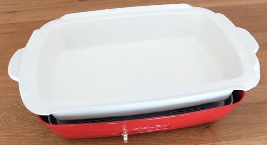 深鍋|ブルーノホットプレートグランデサイズ