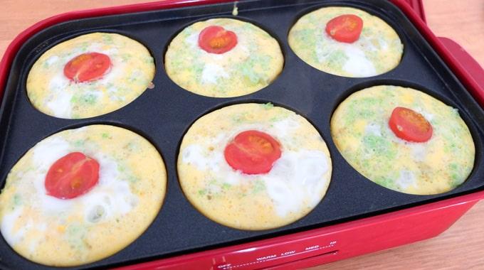 【レシピ】ブルーノマルチプレートで『スパニッシュオムレツ』の作り方