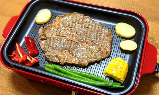 ステーキ|ブルーノグリルプレート