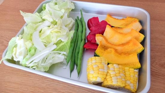 焼肉用の野菜