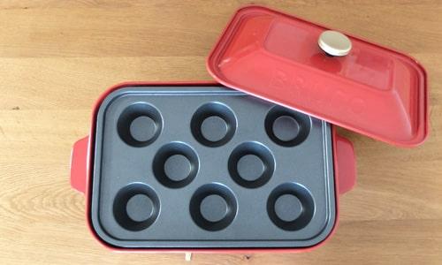 カップケーキプレート|ブルーノコンパクトホットプレート